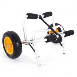 1.5MM Plug Pin Aluminum Alloy Canoeing Trailer Cart Silver