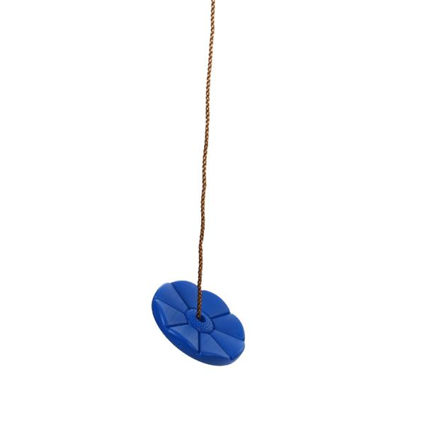 Sunflower Desigh PE Swing Seat Set Playground Accessories with Free Rope Blue