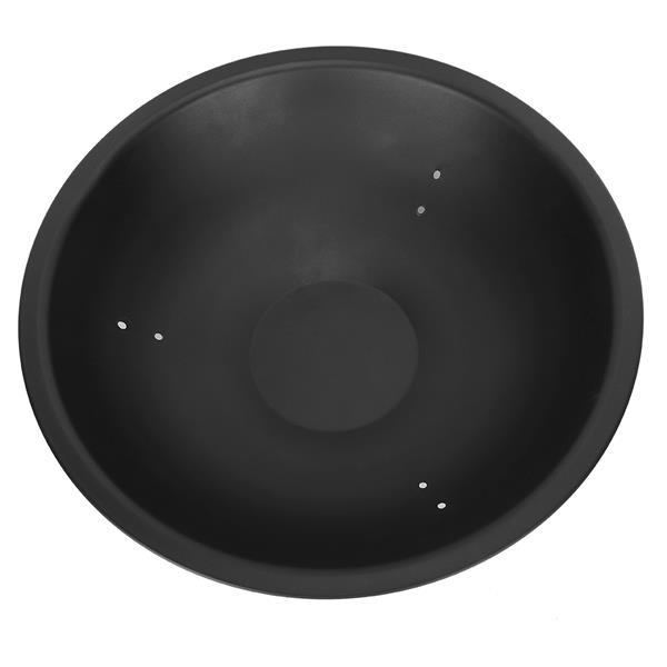 """22"""" Iron Fire Pit Bowl Black"""