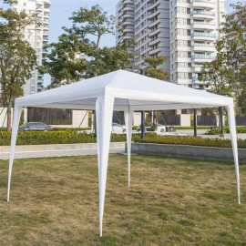 3 x 3m Waterproof Tent with Spiral Tubes White