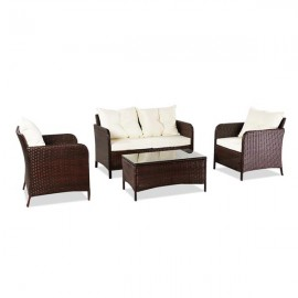 Oshion Outdoor Leisure Sofa Combination Four-Piece..